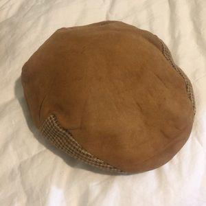 Vintage Newsie Newsboy Flat Cap Hat Costume